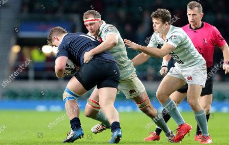 Editorial photo of Oxford v Cambridge, Varsity Match, Rugby Union, Twickenham Stadium, London, UK - 06 Dec 2018