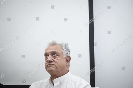 Editorial image of Cary Woods press conference, Tehran, Iran  - 03 Dec 2018