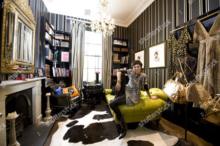 Editorial picture of Fashion Designer Sara Berman at home, London, Britain - 11 May 2009