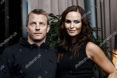 Kimi Raikkonen and Minttu Virtanen