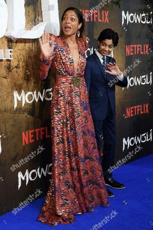 Naomie Harris and Rohan Chand