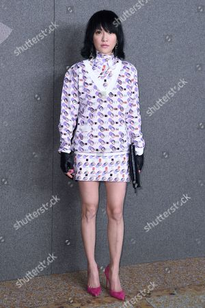 Editorial photo of Chanel Metiers d'Art 2018-2019 show, Arrivals, New York, USA - 04 Dec 2018