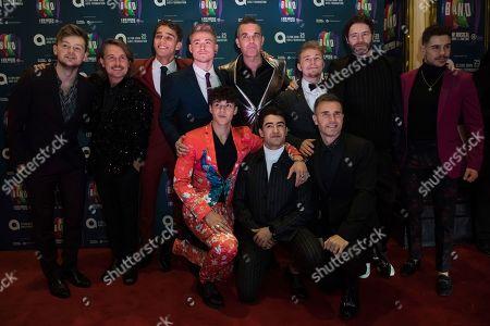 Mark Owen, Robbie Williams, Gary Barlow, Howard Donald