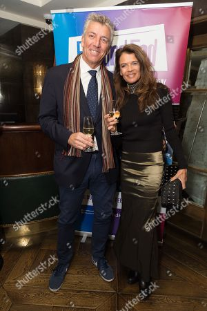 Mel Coleman and Annabel Croft attends French Tennis Legend Henri Leconte's evening re-creating his Masterchef Semi-final experience and raise funds for StreetGames, a charity supporting sports participation for disadvantaged communities.