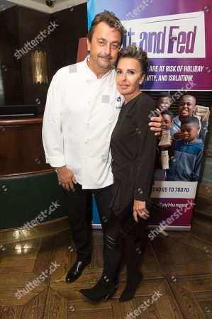 French Tennis Legend Henri Leconte with his wife Maya Leconte re-creates his Masterchef Semi-final experience and raise funds for StreetGames, a charity supporting sports participation for disadvantaged communities.