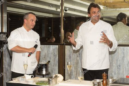 French Tennis Legend Henri Leconte and chef Barry Vera attend an evening re-creating his Masterchef Semi-final experience and raise funds for StreetGames, a charity supporting sports participation for disadvantaged communities.