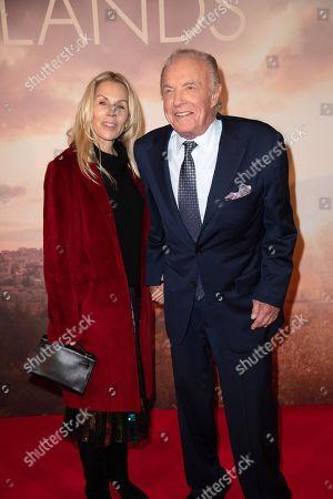 James Caan (R) and Linda Stokes