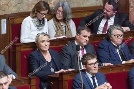 Marine Le Pen, Louis Alliot and Gilbert Collard