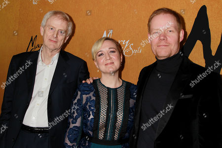 Stock Photo of John Guy, Josie Rourke and Max Richter