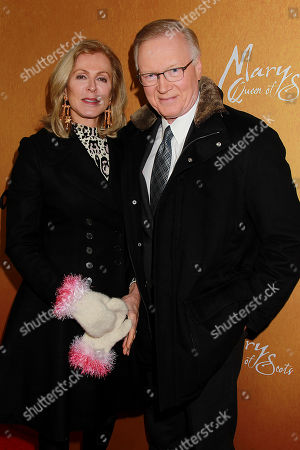 Chuck Scarborough with Wife