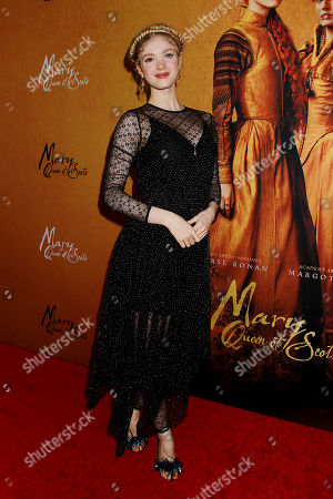 Editorial picture of Mary Queen of Scots New York Premiere, USA - 04 Dec 2018