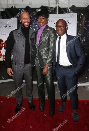 Stock Picture of Common, KiKi Layne, Barry Jenkins