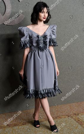 Julia Goldani Telles attends the Chanel Metiers d'Art 2018/19 Show at the Metropolitan Museum of Art, in New York