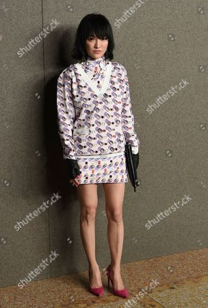 Stock Picture of Zhou Xun attends the Chanel Metiers d'Art 2018/19 Show at the Metropolitan Museum of Art, in New York