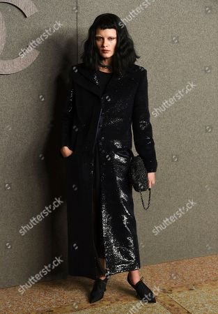 Stock Image of Crystal Renn attends the Chanel Metiers d'Art 2018/19 Show at the Metropolitan Museum of Art, in New York
