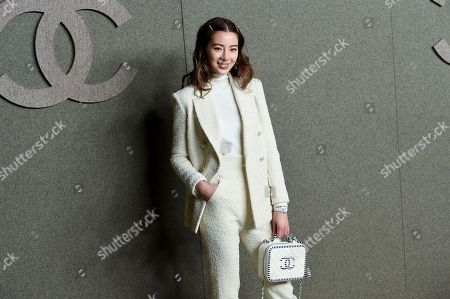 Irene Kim attends the Chanel Metiers d'Art 2018/19 Show at the Metropolitan Museum of Art, in New York