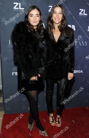 Alanna Masterson and Rebecca Minkoff