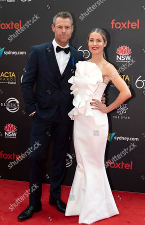 Stock Picture of Rodger Corser and Renae Berry