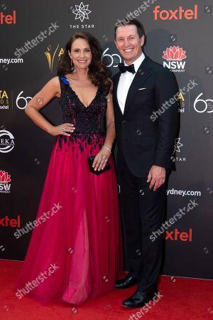 Stock Photo of Tasma Walton and Rove McManus