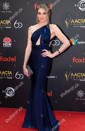 Editorial image of 8th AACTA Awards, Arrivals, Sydney, Australia - 05 Dec 2018