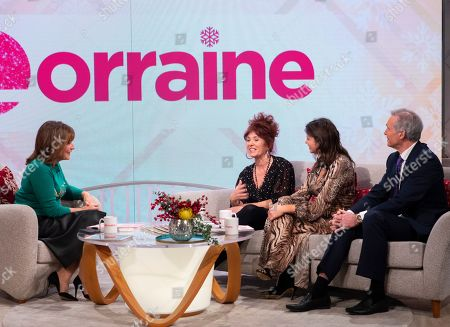 Stock Image of Lorraine Kelly, Tracey O'Keefe and Deborah James with Dr Hilary Jones