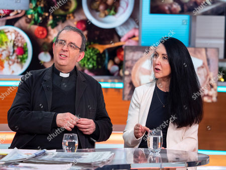 Rev Reverend Richard Coles and Liz Jones