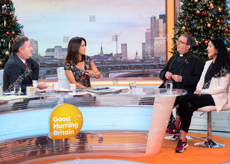 Piers Morgan, Susanna Reid, Rev Reverend Richard Coles and Liz Jones