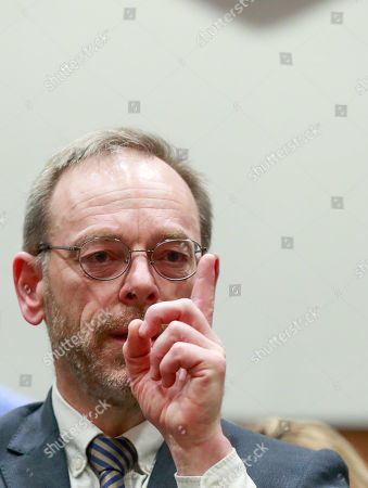 The New Flemish Alliance N-VA's head of group Peter De Roover attends an external Affairs Committee on the UN Migration Pact in Brussels, Belgium, 05 December 2018. Belgian Prime Minister Charles Michel will ask the Parliament to vote on the signing agreement on international migration to prevent the government from collapsing. Michel opposed his coalition partner, the New Flemish Alliance (N-VA), to find out if Belgium should sign the UN Global Compact on Migration.