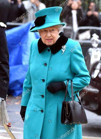 Queen Elizabeth II visit to Coram campus, London