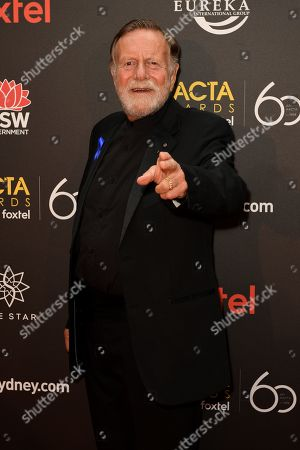 Jack Thompson arrives at the AACTA Awards at The Star, in Sydney, Australia, 05 December 2018.