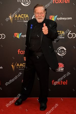 Jack Thompson arrives at the AACTA Awards at The Star, in Sydney Australia, 05 December 2018.