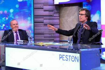 Ian Hislop and Robert Peston