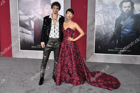 Robert Sheehan and Jihae