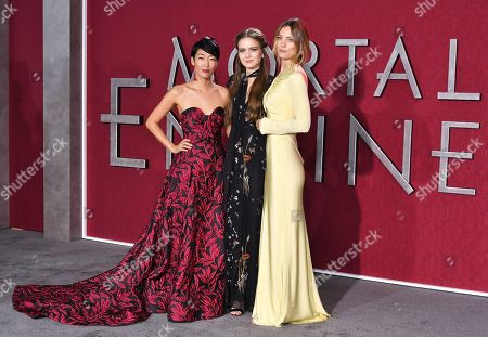 Jihae, Hera Hilmar and Leila George