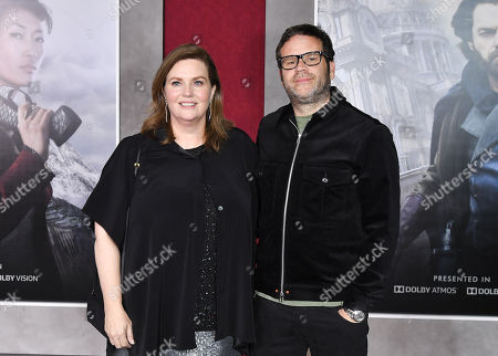 Editorial photo of 'Mortal Engines' film premiere, Arrivals, Los Angeles, USA - 05 Dec 2018