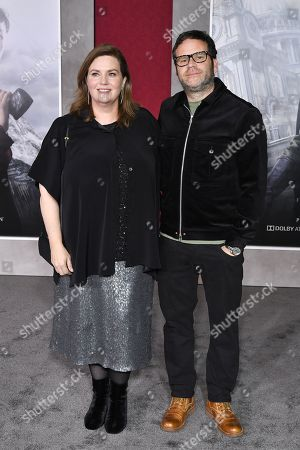 Stock Photo of Philippa Boyens and Seth Miller