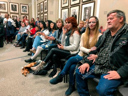Editorial photo of Drug Offenders Clemency Oklahoma, Oklahoma City, USA - 05 Dec 2018