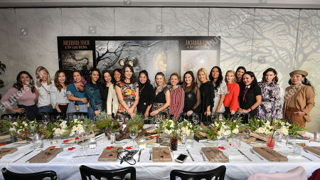 Editorial photo of Millennial Mammas host luncheon, Los Angeles, USA - 04 Dec 2018