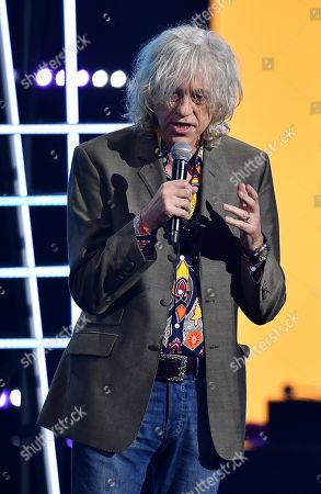 Bob Geldof presents the ARIA Award for Song of the Year during the 32nd ARIA Awards at The Star in Sydney, New South Wales, Australia, 28 November 2018.
