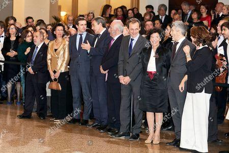 Pablo Casado and Jose Luis Rodriguez Zapatero