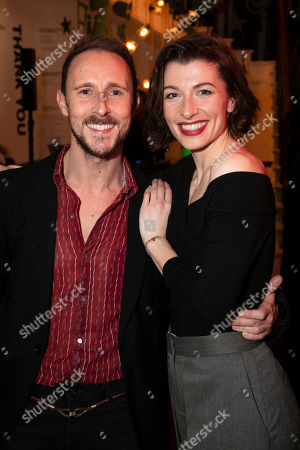 Stock Image of Peter Caulfield (Bob Cratchitt) and Frances McNamee (Belle)