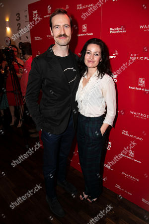 Editorial photo of 'A Christmas Carol' play, After Party, London, UK - 05 Dec 2018