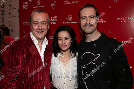 Editorial image of 'A Christmas Carol' play, After Party, London, UK - 05 Dec 2018