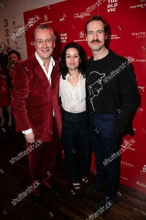 Stock Picture of Stephen Tompkinson (Ebeneezer Scrooge), Maimie McCoy and Eugene McCoy (Fred)