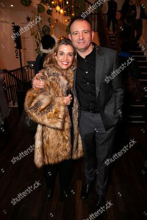 Lisa Dwan and Matthew Warchus (Director)