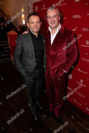Matthew Warchus (Director) and Stephen Tompkinson (Ebeneezer Scrooge)