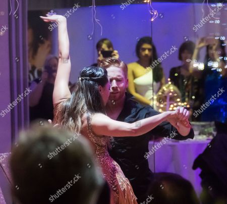 Katya Jones and Neil Jones