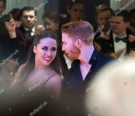 Stock Image of Katya Jones and Neil Jones