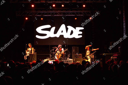 Editorial image of Slade in concert at O2 Academy, Newcastle, UK - 05 Dec 2018