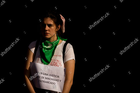 Editorial photo of Women's Protest, Buenos Aires, Argentina - 05 Dec 2018